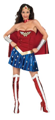 Adult Sexy Wonder Woman Costume - Extra Small