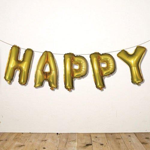 14インチレターバルーン『HAPPY』 -