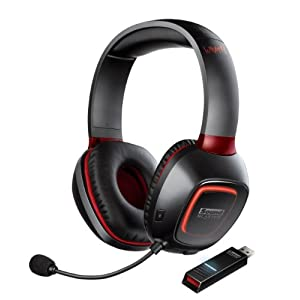 Creative Sound Blaster Tactic 3D Wrath Wireless Gaming Headset for PC and Mac with THX Studio Pro $103.82