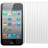 APPLE IPOD TOUCH 4, 4G, 4TH GENERATION SCREEN PROTECTORS 10-IN-1 PACKby Qubits
