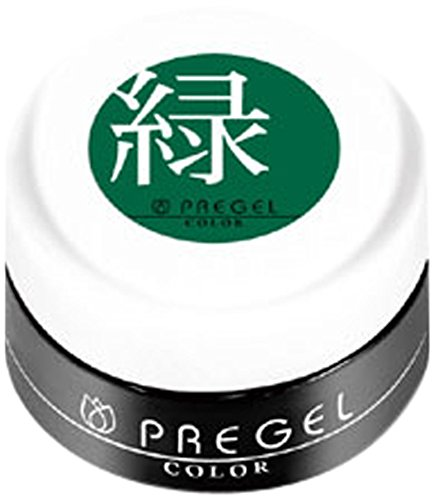 プリジェル カラージェル 緑 3g PGー118