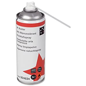 5star air duster can hfc free compressed gas flammable electronics. Black Bedroom Furniture Sets. Home Design Ideas