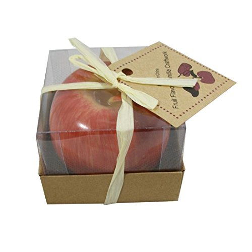 danspeed-1-pcs-christmas-red-apple-shape-fruit-scented-candle-home-decoration-greet-gift-style-1
