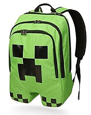 Minecraft Creeper Backpack by kaixuan sports