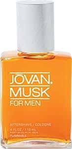 Jovan Musk Aftershave for Men, 118 ml