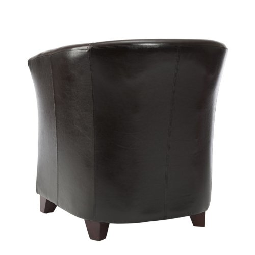 Safavieh Hudson Collection Clara Leather Club Chair from