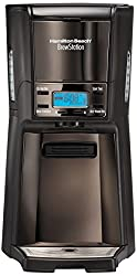 Hamilton Beach Brew Station 48467-IN 12-Cup Coffee Maker (Black Ice)