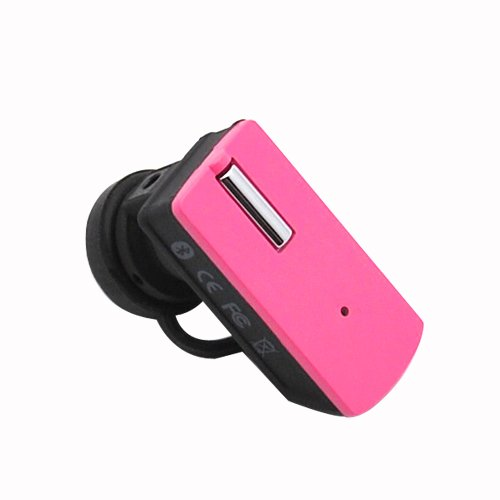 Super mini headset Pink Color Q7 Bluetooth Handsfree For Samsung : Eternity II / Gusto / Flight II / SGH-T369 / Intensity II / Haven / Epic 4G / Fascinate (Galaxy S) / Intercept ' Captivate (Galaxy S) / Acclaim SCH-R880 / Vibrant (Galaxy S) /Convoy / Flight A797 / Mythic A897 / Code i220 / Exec i225 / Intrepid SPH-i350 / Moment / Instinct HD / M330 / Freeform R350 / LG Encore / LG GS170 / LG VM-101 / CM-101 / LG GU292 / Gu 295 / LG Clout / LG dLite / Sentio GS505 / Prime / Vu Plus / Fathom / All