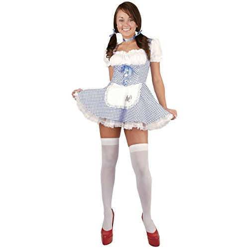 [GSG Dorothy Costume Teen Wizard of Oz Halloween Fancy Dress] (Dorothy Wizard Of Oz Costume Teenager)
