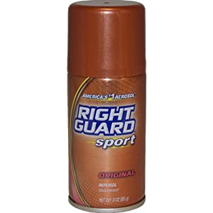 Right Guard Sport Deodorant Aerosol, Original - 3 OZ