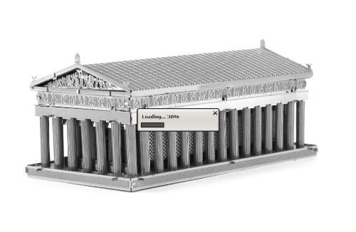 Fascinations MetalEarth 3D Laser Cut Model - Parthenon Model: MMS059, Toys & Games for Kids & Child (Parthenon Model compare prices)