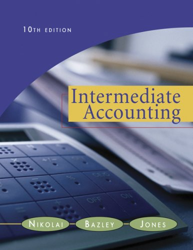 Intermediate Accounting (with Business and Company Resource Center and Chapter 20, 2007 Update)