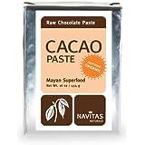 Navitas Naturals Organic Raw Cacao Liquor/Paste, 16-Ounce