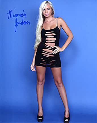 Miranda Jordan autographed photo at Amazon's Entertainment