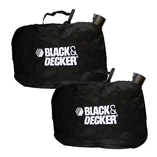 Black & Decker Leaf Blower/Vacuum Replacement (2 Pack) Shoulder Bag # 90560020-2pk (Black And Decker Leaf Bag compare prices)