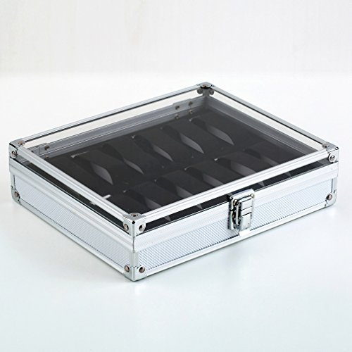 aluminum-12-wristwatch-watch-showcase-display-storage-case-box
