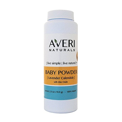Averi Naturals Baby Powder • 100% Natural • with Arrow Root and Zinc Oxide • 2.5 oz • FREE SHIPPING (1) - 1