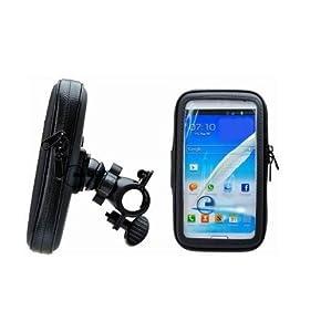 [ノーブランド品]ナビ スマホ GPS 5インチ 防水マウントキット 4サイズ (L) iphone6 4.7にピッタリ!