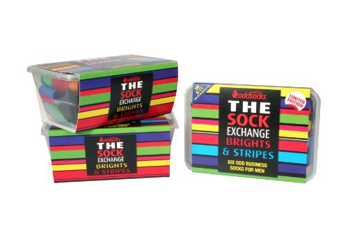 The Sock Exchange - Brights and Stripes