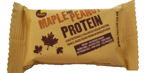 Pulsin' Maple and Peanut Protein Snack 50 g - 1 pack