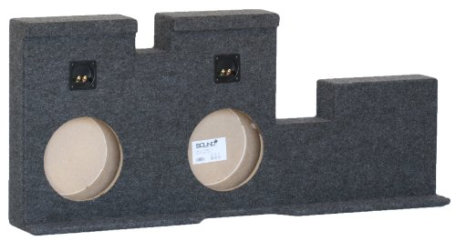 "Toyota Tundra Doublecab Double 12"" Subwoofer Enclosure Sub Box 2007-2013"