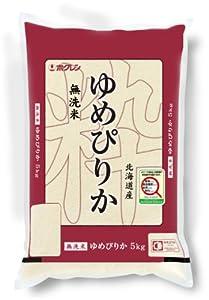 【精米】ホクレン 北海道産 無洗米 ゆめぴりか 5kg 平成24年産