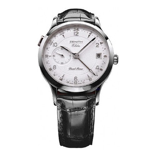 Zenith Class Dual Time Men's Automatic Watch 03-1125-682-02-C490