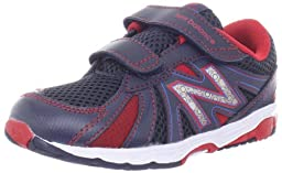 New Balance KG634 Running Shoe (Infant/Toddler),Blue/Red,2 M US Infant