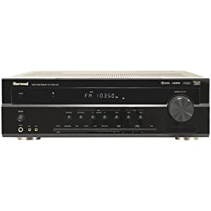 SHERWOOD RD-7405HDR 7.1-Channel 70-Watt Dual-Zone A/V Receiver with HD Radio