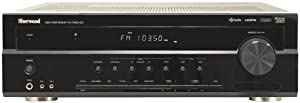 SHERWOOD RD-7405HDR 7.1-Channel 70-Watt Dual-Zone A/V Receiver with HD Radio (Discontinued by Manufacturer)