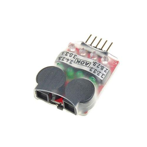 2 Cells 7V,3 Cells 10.5V and 4 Cells 14V RC Lipo Battery Low Voltage Buzzer Alarm