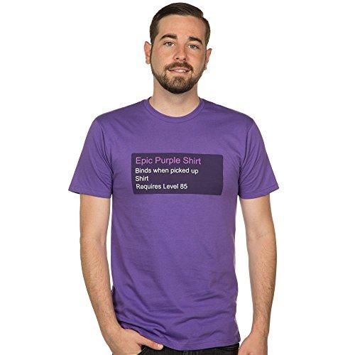 World of Warcraft Epic Purple Shirt T-shirt