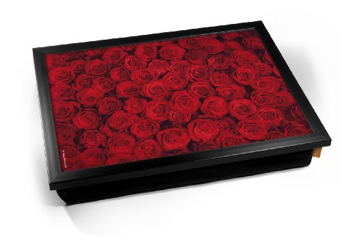 Red Roses Flowers Valentines Cushion