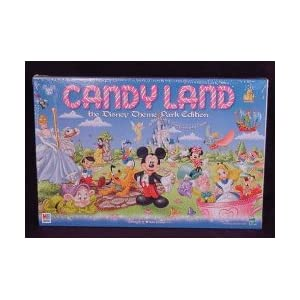 Candy Land games: Disney Theme Park edition!