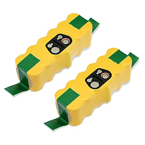 efluky 2pcs 3.5Ah Ni-MH Battery for iRobot Roomba R3 500,600,700&800 Series (Roomba Battery Original compare prices)