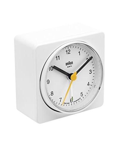 Braun Reloj despertador BNC011WHWH Blanco