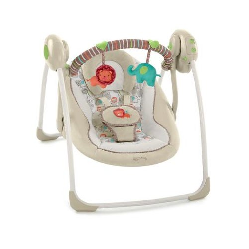 Find Bargain Comfort & Harmony Cozy Kingdom Portable Swing