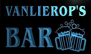 w107523 b VANLIEROP Name Home Bar Pub Beer Mugs Cheers Neon Light Sign