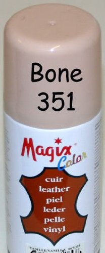 Grison/Magix Leather and Synthetics Spray 150ml - Bone 351 (Sold by Pearls Drycleaners Ltd)