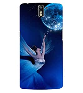 ColourCraft Lovely Angel Design Back Case Cover for OnePlus One