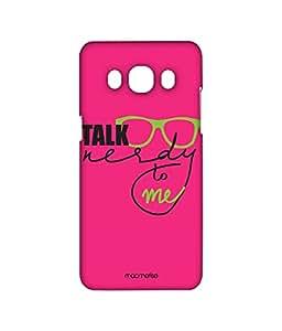 Nerd Talk Pink - Sublime Case for Samsung J5 (2016)