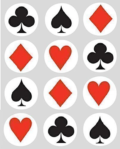 12-playing-card-suits-rice-paper-fairy-cup-cake-40mm-toppers-pre-cut-decoration