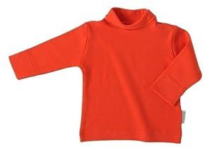 Rapife - Camiseta manga larga exterior de cuello cisne en 100% algodón. de Rapife