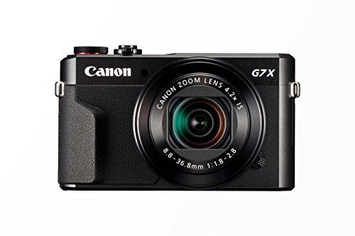 Canon PowerShot G7 X MARK II Fotocamera Compatta Digitale da 20.1 Megapixel, Wi-Fi, Nero/Antracite