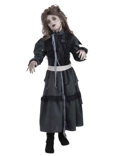 girls - Zombie Girl Sm Halloween Costume - Child Small