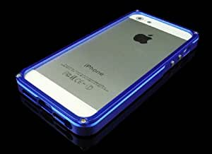 Aluminum Bumper Case for Iphone 5/5s (Blue)