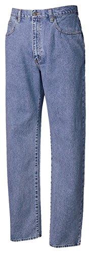 Cutter & Buck Men's 5 Pocket Jeans, Denim, 33W x 32L