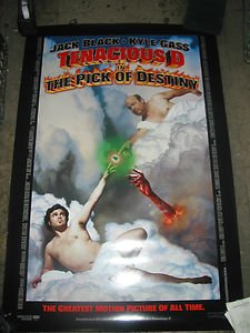 Tenacious D A/T Pick Of Destiny / Orig. Us One-Sheet Movie Poster (Jack Black)