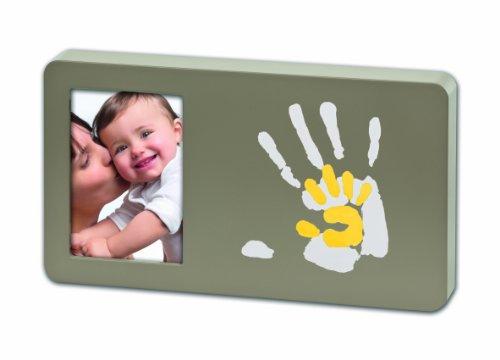 Baby Art - 34120098 - Duo Paint Print Frame - Portafoto con spazio per le impronte delle mani della mamma e del bebè