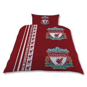 Zap Liverpool Stripe Single Duvet